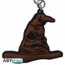 wholesale Gifts & Stationery: HARRY POTTER - Keychain PVC Sorting Hat X4