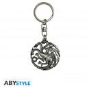GAME OF THRONES - Keychain 3D Targaryen X2