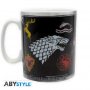 GAME OF THRONES - Mug - 460 ml - Sigles & Trôn