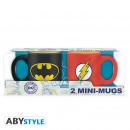 DC COMICS - Set of 2 mini-mugs - 110 ml - Batman &