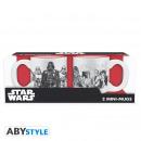 Star Wars - Set di 2 mini-tazze - 110 ml - Empire