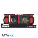 Star Wars - Set di 2 mini-tazze - 110 ml - Vader v