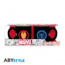 MARVEL - Set of 2 mini-mugs - 110 ml - IM & SP