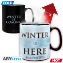 GAME OF THRONES - Mug Heat Change - 460 ml - Winte