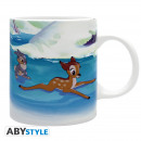 Disney - Mug - 320 ml - Bambi Rink - subli - wit
