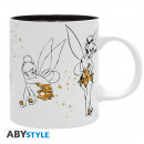 grossiste Articles sous Licence: Disney - Mug - 320 ml - Tinkerbell - subli - ave