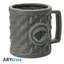 Großhandel Tassen & Becher: GAME OF THRONES - Mug 3D - STARK x2