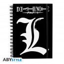 wholesale Notebooks & Tablets: DEATH NOTE - Notebook 'L' X4