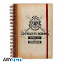 HARRY POTTER - Notebook Hogwarts School X4