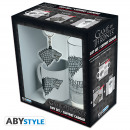 GAME OF THRONES - Package Glasses 29cl + KeyringPV