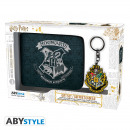 HARRY POTTER - Package Wallet + Keyring Hogwarts