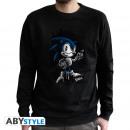 Großhandel Pullover & Sweatshirts: SONIC - Sweat vintage - Sonic men used black