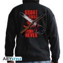 Großhandel Pullover & Sweatshirts: ASH Vs EVIL DEAD - Hoodie - Shoot first, think ne