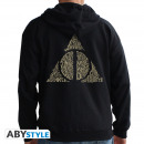 Großhandel Pullover & Sweatshirts: HARRY POTTER - Hoodie - Deathly Hallows man Blac