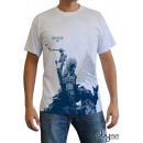 ASSASSIN'S CREED - Tshirt Connor kneel down