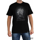 GAME OF THRONES - Tshirt Iron throne man SS blac