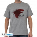 GAME OF THRONES - Tshirt The North... man SS spo