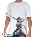 TOMB RAIDER - Tshirt Lara Croft man SS white - b
