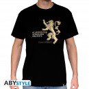 GAME OF THRONES - Tshirt Lannister man SS black