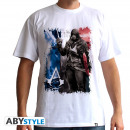 ASSASSIN'S CREED - Tshirt AC5 - Flag man SS whit