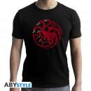 JUEGO DE TRONOS - Camiseta Targaryen hombre SS n