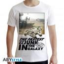 Großhandel Kinder- und Babybekleidung: STAR WARS - Tshirt Falcon Graphic man SS white -
