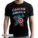 MARVEL - Tshirt CA Vintage man SS black - new fi
