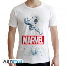 MARVEL - Tshirt Marvel Hulk man SS white - new f