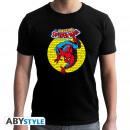 MARVEL - Tshirt SPDM Vintage man SS black - new