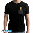 Großhandel Shirts & Tops: MARVEL - Tshirt Pocket Groot man SS black - new