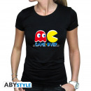 Großhandel Shirts & Tops: PAC-MAN - Tshirt Game Over woman SS black