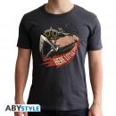 OVERWATCH - Tshirt Roadhog man SS black - new fi