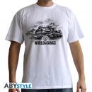 WORLD OF TANKS - Tshirt Logo man SS white - basi