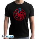 GAME OF THRONES - Tshirt Targaryen Viserion man S