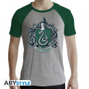Großhandel Shirts & Tops: HARRY POTTER - Tshirt Slytherin man SS grey & gr
