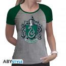 Großhandel Shirts & Tops: HARRY POTTER - Tshirt Slytherin woman SS grey &