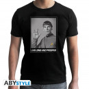 Großhandel Shirts & Tops: STAR TREK - Tshirt Spock man SS black - new fit