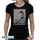 Großhandel Shirts & Tops: STAR TREK - Tshirt Spock woman SS black - new fi