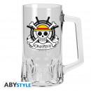 wholesale Drinking Glasses: ONE PIECE - Tankard Skull - Luffy