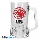 wholesale Drinking Glasses: GAME OF THRONES - Tankard Targaryen