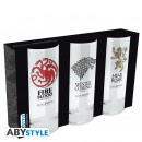 GAME OF THRONES - 3 glasses set x2