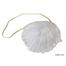 Großhandel Handtaschen: Handtasche White Angel 20x30cm