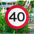 Großhandel Sonnenschirme & Pavillons: Gartenschild Verk.Schild 30