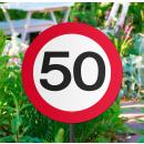 Großhandel Sonnenschirme & Pavillons: Gartenschild Verk.Schild 40