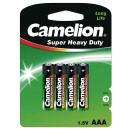 4x R03 / Micro,  Battery Super Heavy Duty (Zinc Co