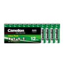 12x R03 / Micro2, Battery Super Heavy Duty (Zinc