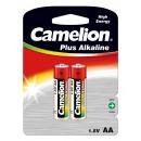 2x LR6 / Mignon , Batterie Plus Alkaline