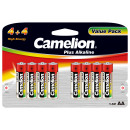 8x LR6 / Mignon (4 + 4), Battery Plus Alkaline