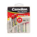24x LR6 / AA, Bateria Plus Alkaline