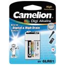 6LF22 / 9 Volt  Block, Battery Digi Alkaline
